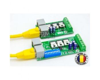 Controller RGB Cascade DMX 512 8A Ch