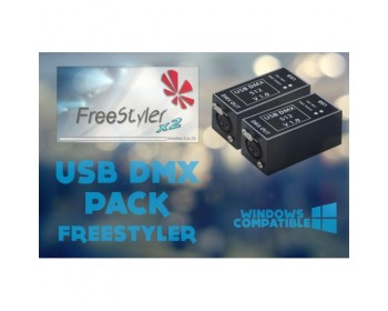 USB DMX PACK Freestyler